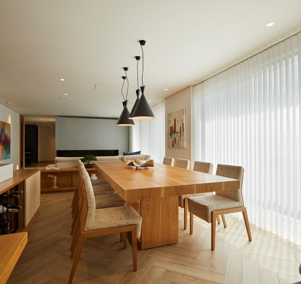 Diseño del espacio del comedor