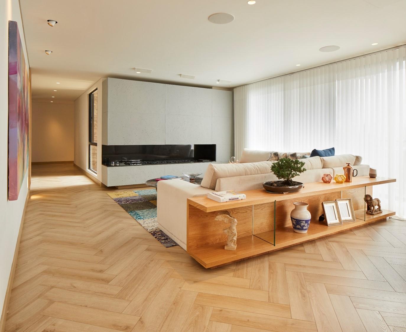 Diseño del salón de descanso.