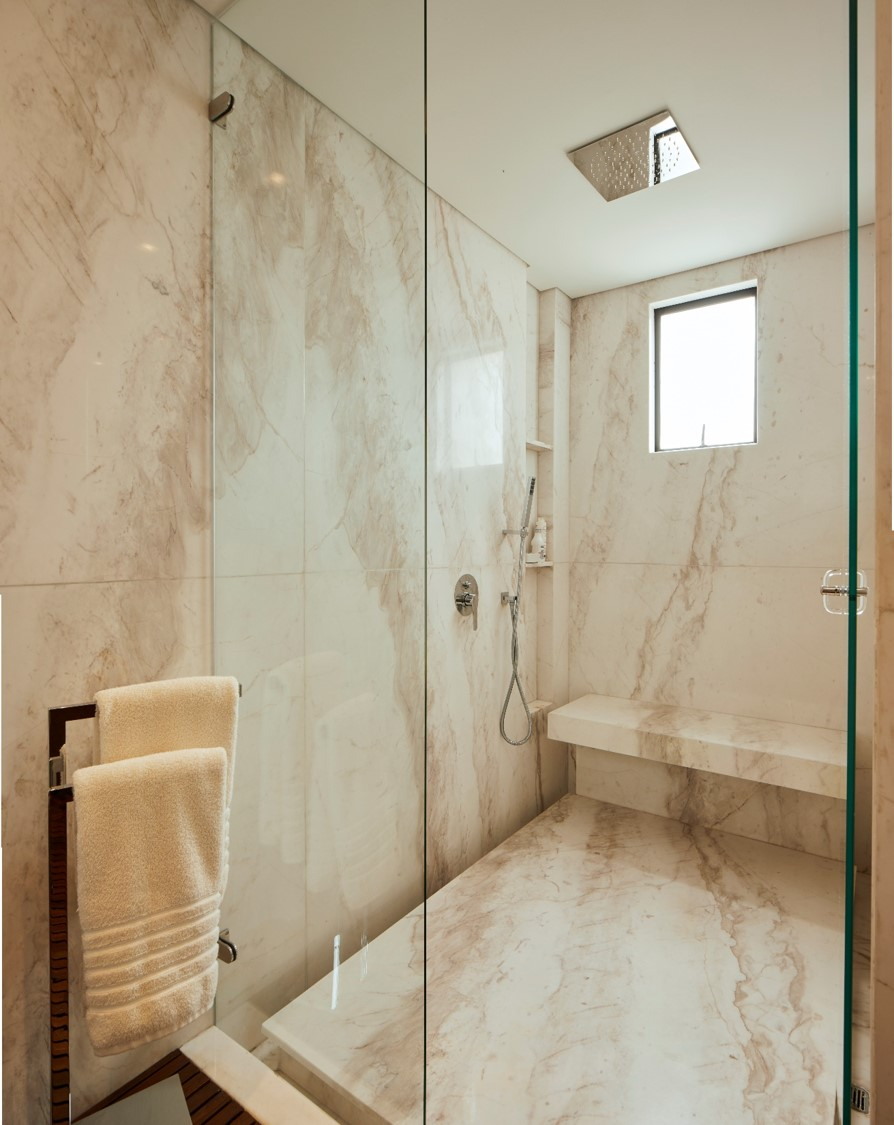Diseño del cuarto de baño.