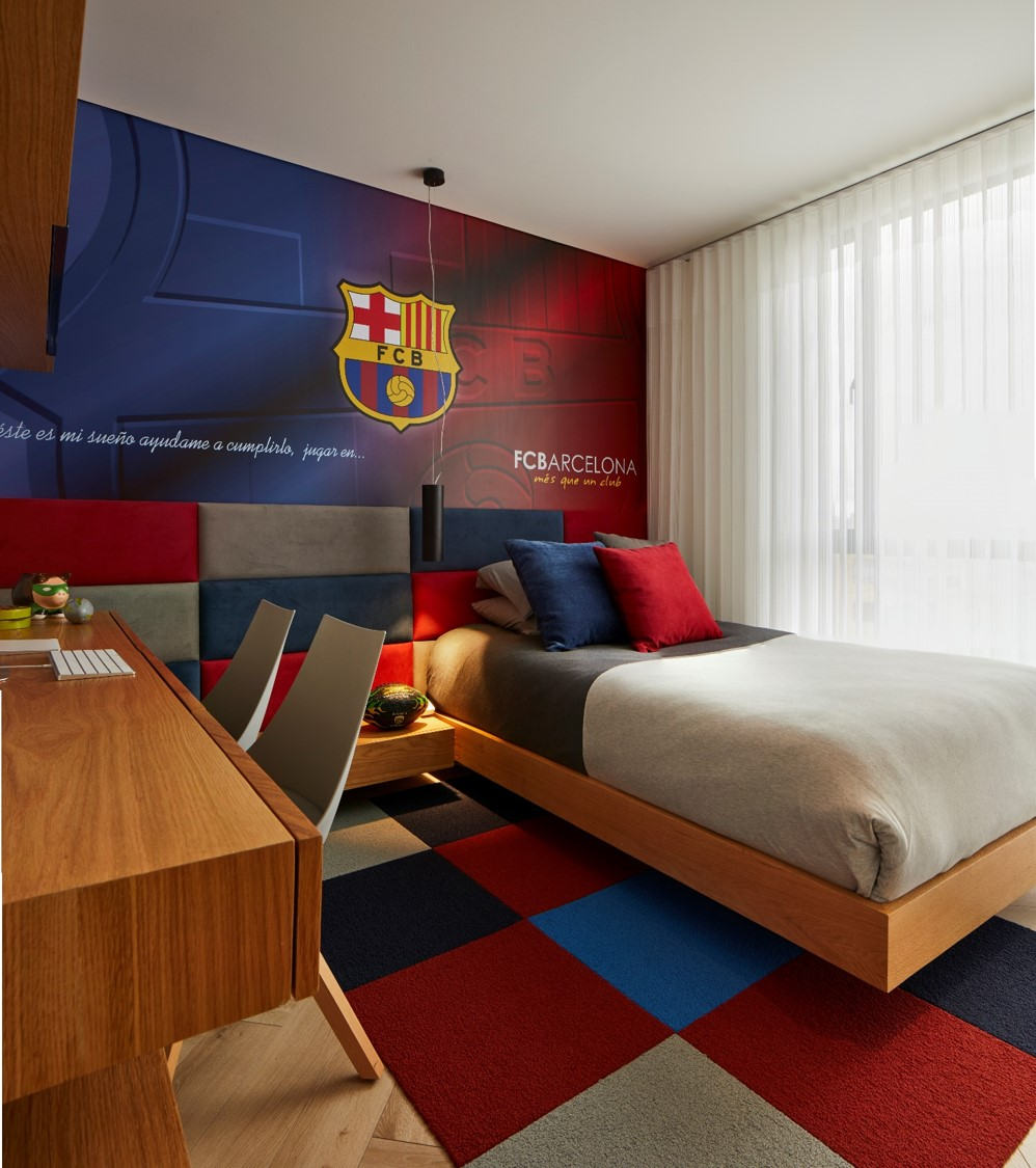 Diseño de tercera habitación